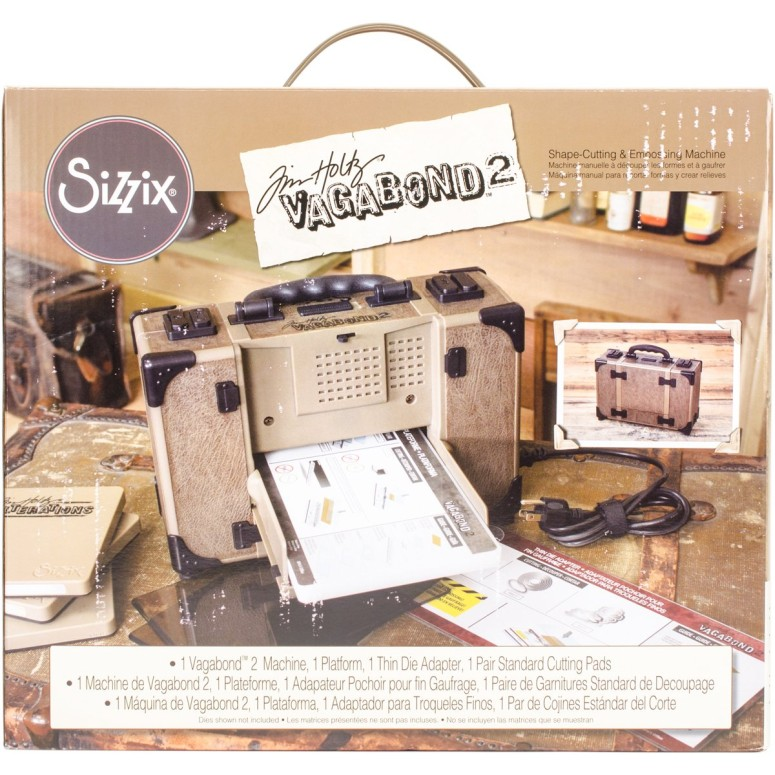 ダイカットマシーン Sizzix Tim Holtz Vagabond 2 Electric Die Cutting Machine 660855, 6