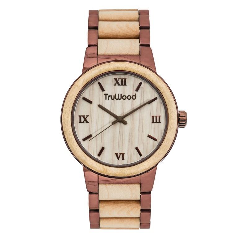 トゥルーウッド truwood ウッドウォッチ 木製腕時計 女性用 腕時計 レディース ウォッチ ベージュ 5060412364010 送料無料 【並行輸入品】