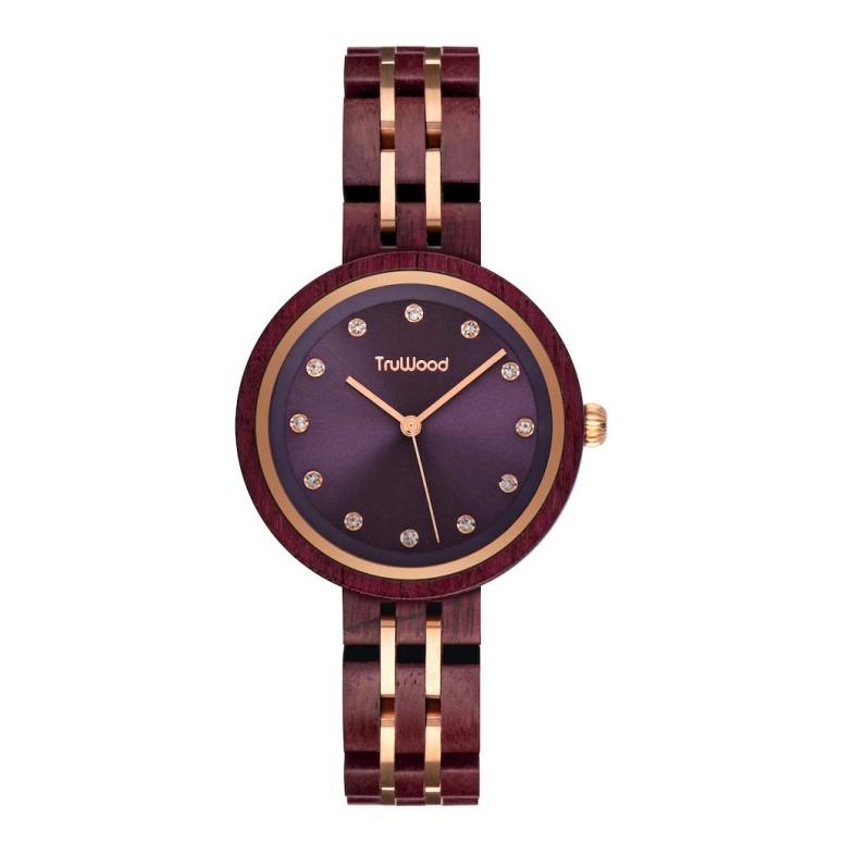 ファッションデザイナー トゥルーウッド truwood ウッドウォッチ 3060412013569 木製腕時計 木製腕時計 女性用 腕時計 レディース truwood ウォッチ パープル 3060412013569 送料無料【並行輸入品】, イチグチ:5bfb0d83 --- coursedive.com