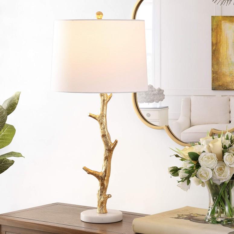 暮らし健康ネット館 サファヴィヤ safavieh テーブルランプ サファビヤ Safavieh Lighting Collection Olenna 30-inch Gold Tree Branch Table Lamp (LED Bulb Included) TBL4298A 送料無料 【並行輸入品】, アンティークアジアン家具 ELMclub 78f4714b