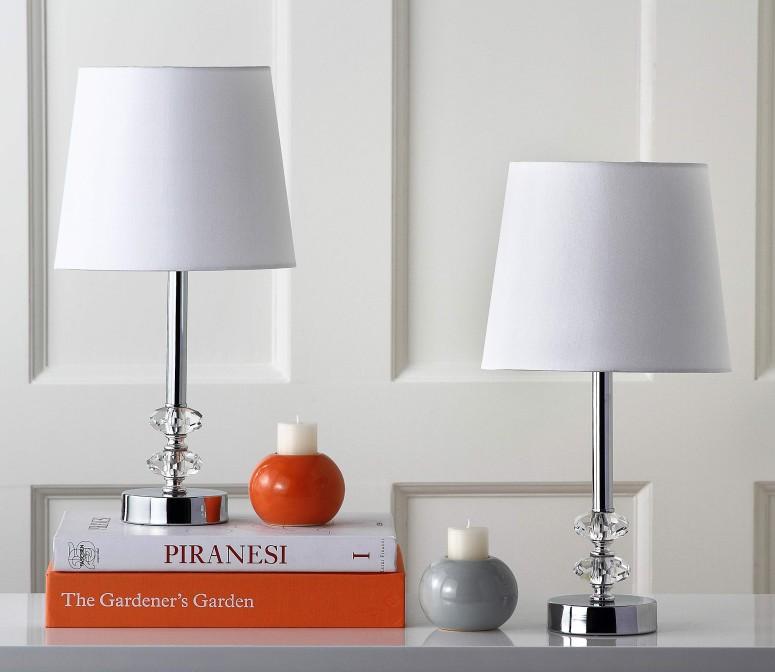 【国内即発送】 サファヴィヤ safavieh テーブルランプ サファビヤ Safavieh Lighting Collection Ashford Clear and White Crystal Orb 16-inch Table Lamp (Set of 2) 送料無料 【並行輸入品】, オリジナル ボーシ イノウエ 0b241d51