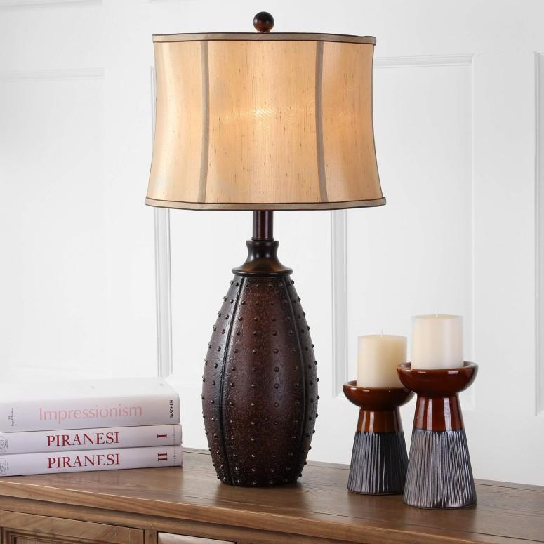 【高価値】 サファヴィヤ safavieh テーブルランプ サファビヤ Safavieh Lighting Collection Santa Fe Brown Faux Leather 28-inch Table Lamp (Set of 2) 送料無料 【並行輸入品】, gallery 365 8a59e302