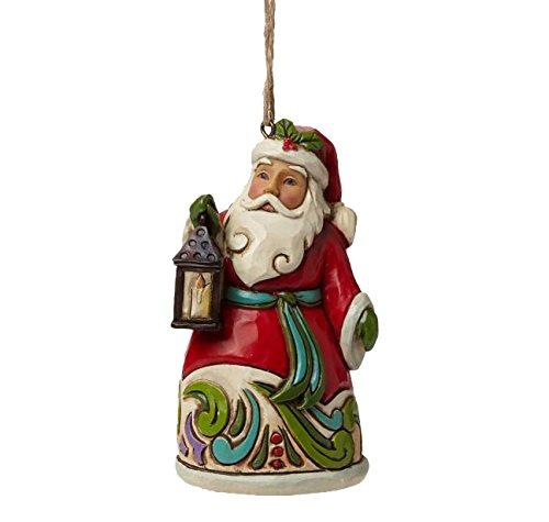 ジム ショア Hwc H/O サンタ ウィズ ランタン ミン ランタンを持ったサンタ 3.5 インチ H/O Santa W/Lantern Min 【 フィギュア 置物 置物 キャラクター 人形 プレゼント クリスマス 誕生日 】 送料無料 【並行輸入品】