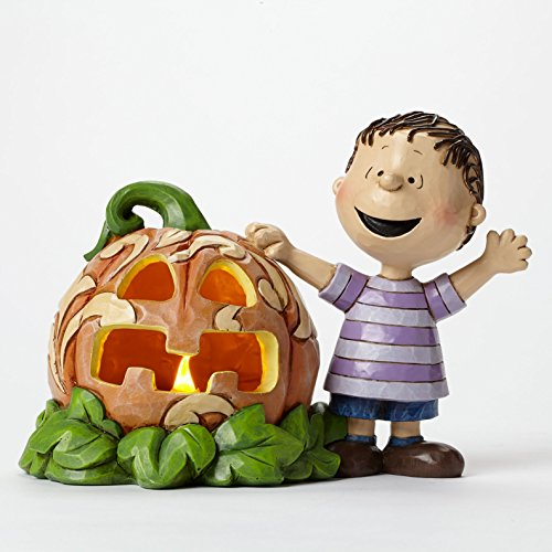 エネスコ ジム ショア ピーナッツ ライナス アンド グレート パンプキン ライナスとでっかいかぼちゃ 5 インチ Peanuts Linus and the Great Pumpkin Figurine, 5