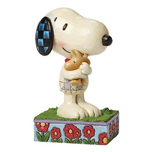 ピーナッツ スヌーピー&ウッドストック ハグ 抱き合う 6.5 インチ Snoopy and Woodstock Hug 【 フィギュア 置物 置物 キャラクター 人形 プレゼント クリスマス 誕生日 】 送料無料 【並行輸入品】