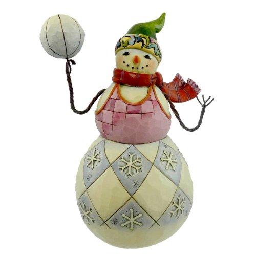 ジム ショア ハビン ア ボール ディス シーズン 4017663 スノーマン スポーツ New 今のシーズンを楽しんで 4017663 ボールを持つ スポーツ 雪だるま New 6.75 インチ 【 フィギュア 置物 置物 キャラクター 人形 プレゼント クリスマス 誕生日 】 送料無料 【並行輸入品】