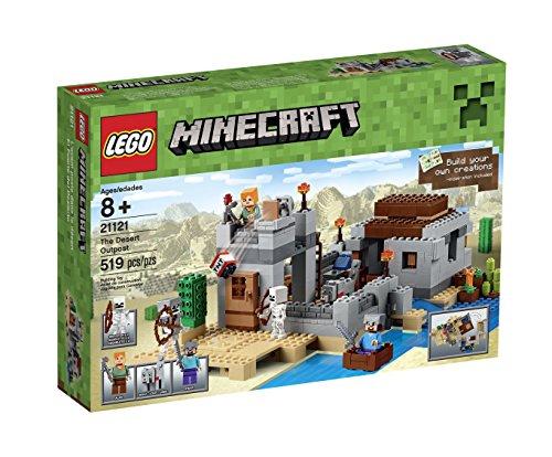 レゴ LEGO製 マインクラフト LEGO Minecraft 21121 the Desert Outpost Building Kit 【 レゴ レゴブロック ブロック マインクラフトシリーズ マイクラ 】 送料無料 【並行輸入品】