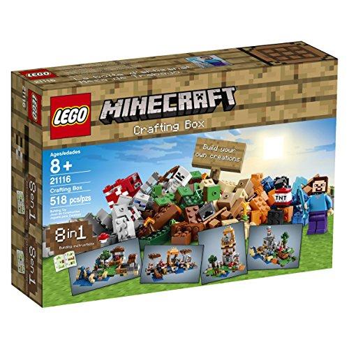 レゴ LEGO製 マインクラフト LEGO Minecraft 21116 Crafting Box 【 レゴ レゴブロック ブロック マインクラフトシリーズ マイクラ 】 送料無料 【並行輸入品】