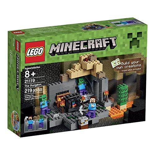 レゴ LEGO製 マインクラフト LEGO Minecraft 21119 the Dungeon Building Kit 【 レゴ レゴブロック ブロック マインクラフトシリーズ マイクラ 】 送料無料 【並行輸入品】
