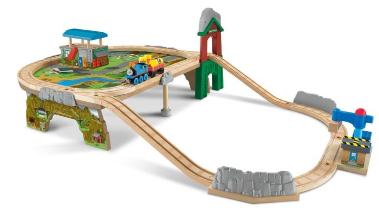 【即納】 トーマス 木製レール きかんしゃ マウンテントップ サプライ Fisher-Price Thomas & Friends Wooden Railway, Mountaintop Supply Run Set sokunou 送料無料 【並行輸入品】