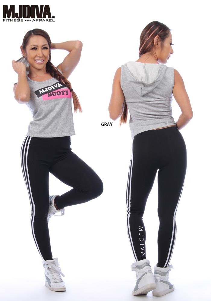 ... Non sleeve ☆ marketable goods fitness wear MJ DIVA TANKTOP Lady s dance  tank top dance clothes ... 298edb1d579