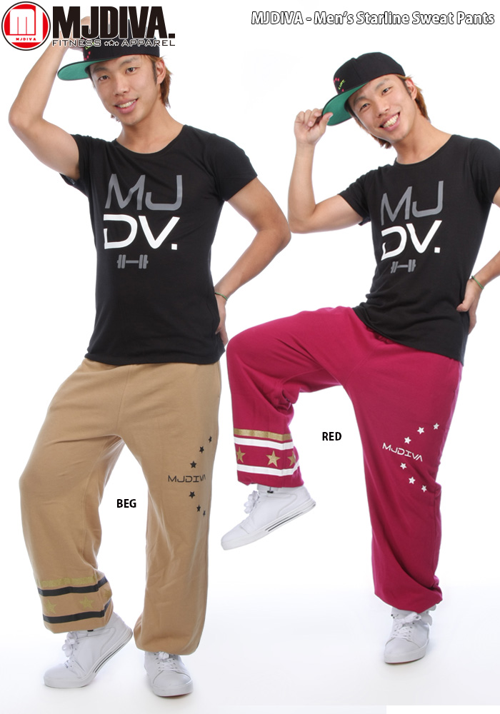 c2cd9bf2663f ... MJDIVA ◇ mens - StarLine sweatpants ☆ hot-selling fitness were MJ DIVA  dance pants ...