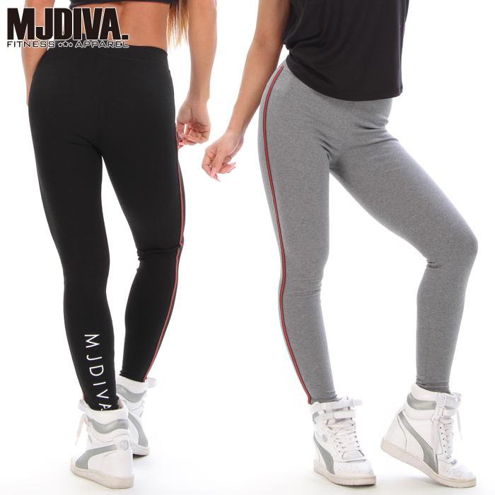 MJDIVA: MJDIVA ◇ sports PIT line 2 color leggings