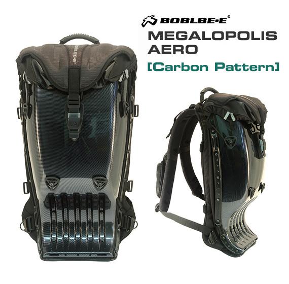 "Boblbee megalopolis Aero ""carbon pattern models, [BOBLBE-E Megalopolis Aero Carbon Pattern 303060]"