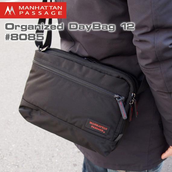 【今ならポイント10倍中】 【送料無料(沖縄は+900円)】Manhattan Passage #8085 Organized Day Bag 12 [マンハッタンパッセージ オーガナイズド デイバッグ] 【あす楽対応】 父の日