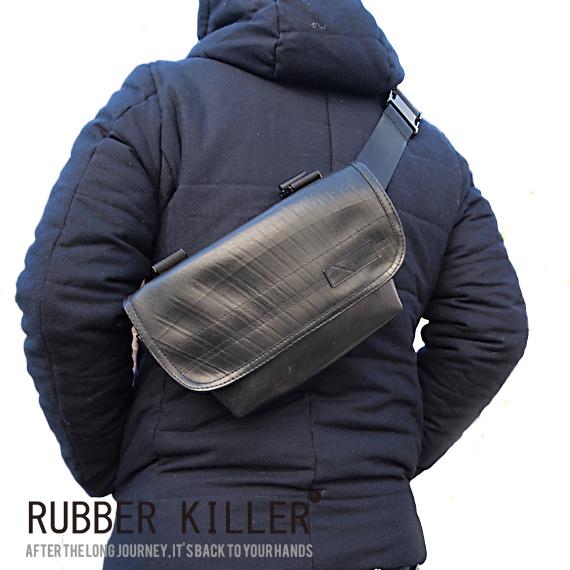 【ポイント10倍 10/26 01:59まで】【送料無料(沖縄は+900円)】RUBBER KILLER Pree (Waist Bicycle Bag) ラバーキラー 【ギフト】【プレゼント】【あす楽対応】