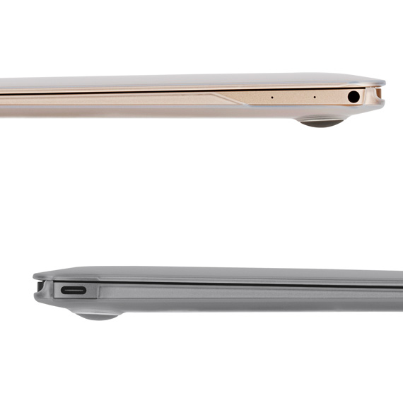 huge discount f1a6c 65901 There is moshi モシアイグレイズ protection case shell cover slim protector  polycarbonate elegant 薄; moshi iGlaze 12 for MacBook 12 Stealth ...