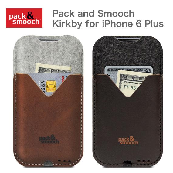 パック アンド スムーチ アイフォン6s Plus/7 Plus ケース カークビー ドイツ製 ハンドメイド Pack and Smooch Kirkby for iPhone 6Plus/7 Plus【ネコポス対応商品】【フェルト】【ウール】【ギフト】【プレゼント】【あす楽対応】