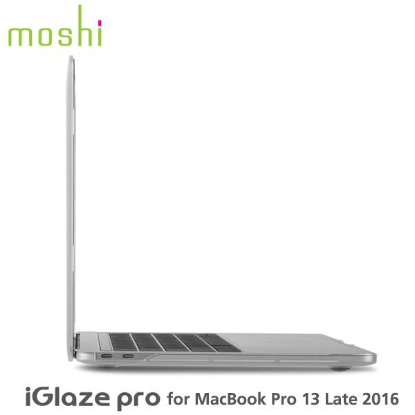 moshi iGlaze Pro 13 Late 2016 Stealth Clear モシ アイグレイズ プロ ステルス クリア MacBook Pro(Late 2016/ Mid 2017 / 2018 / 2019)mo-ig-pt13cl 対応 薄型シェルカバー ポリカーボネート【あす楽対応】 父の日