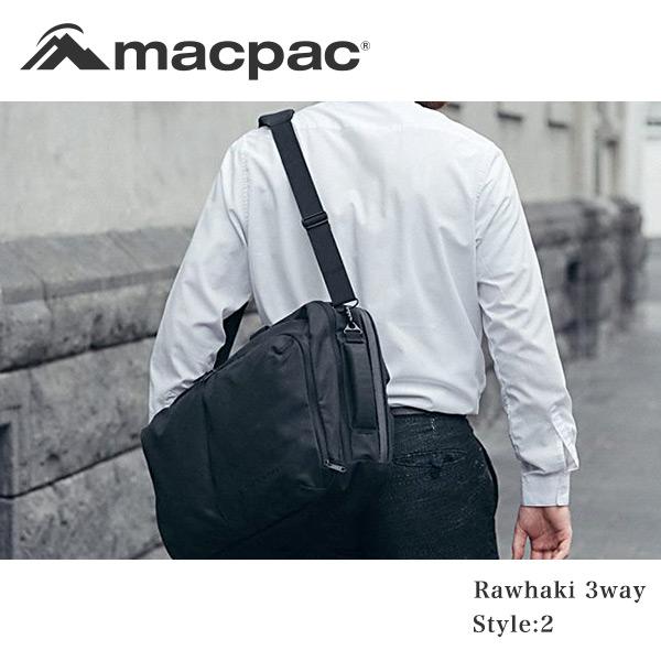 7c3176087a71 MacpacラワキスリーウェイリュックビジネスバッグAZTEC素材高耐水高耐久メンズRawhaki3WayMM81805(