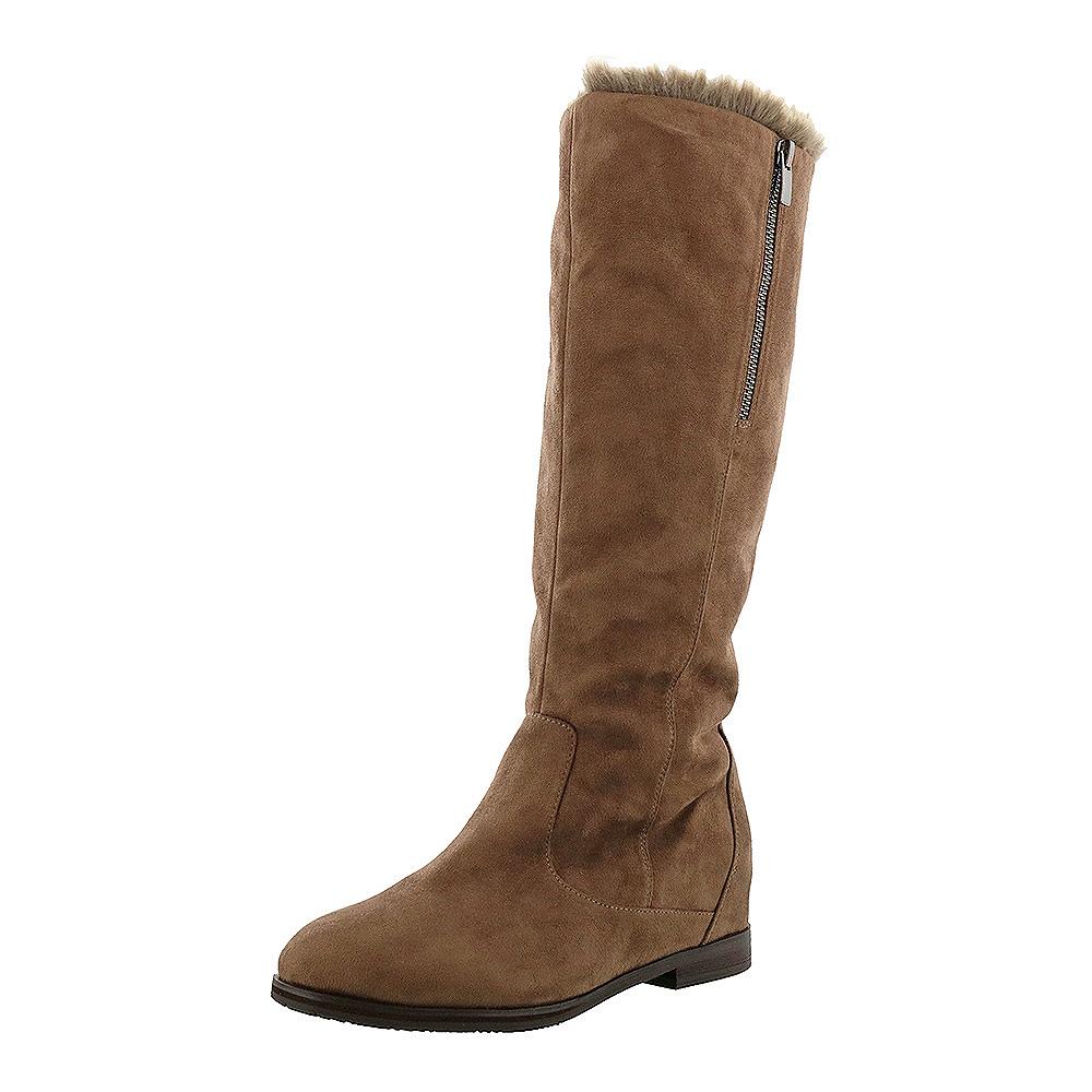 cavacava サヴァサヴァ 靴 シューズ レディース ブーツ 送料無料 1320163 レビューを書けば送料当店負担 本革 デポー ロングブーツ ファー 23.5cm 23cm