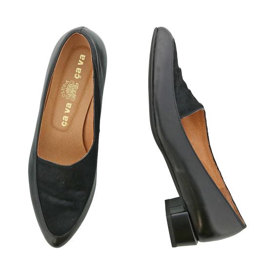 サヴァサヴァ cavacava 靴 レディース 高級な アウトレット☆送料無料 シューズ 1800737 送料無料 パンプス 23.5cm 23cm