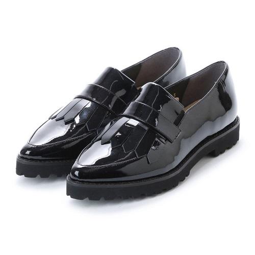 ing イング 靴 シューズ レディース ローファー キルトデザイン エナメル 送料無料 ing5011 23cm