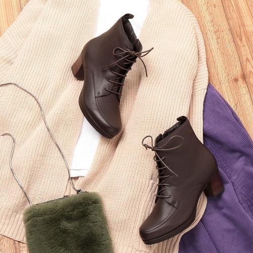 ing イング 靴 シューズ レディース ブーツ 送料無料 本革 ショートブーツ レースアップ サイドファスナー IGSV98083 23cm 23.5cm 24cm 24.5cm