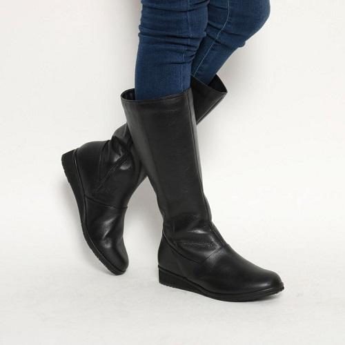 ピサ PISAZ 靴 シューズ 高額売筋 レディース ブーツ ロングブーツ 送料無料 23cm EEE 本革 3E PZ1278 激安卸販売新品