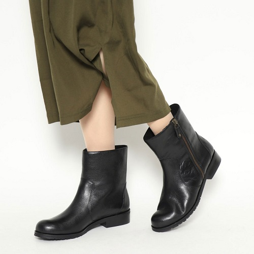ビス VIS 靴 シューズ レディース ブーツ 送料無料 本革 ショートブーツ 履きやすい VIS3501