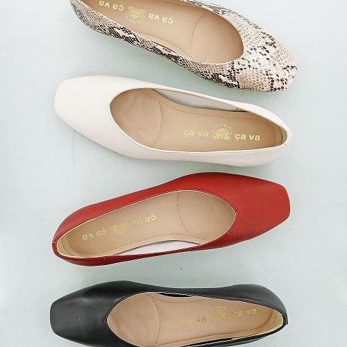 cavacava サヴァサヴァ 靴 シューズ フラットシューズ パンプス レディース 履きやすい 23cm 24cm スクエア やわらか ca6420021 送料無料 発売モデル 激安 お買い得 キ゛フト 23.5cm
