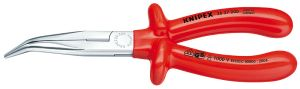 KNIPEX 2627-200 絶縁40°先曲ラジオペンチ