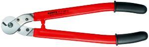 KNIPEXワイヤーロープおよびケーブルニッパー(ハサミ式)9577-600