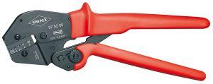 KNIPEX圧着プライヤー 両手操作にも使用可能9752-08