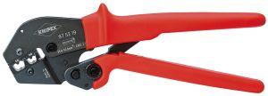 KNIPEX圧着プライヤー 両手操作にも使用可能9752-19
