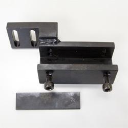 電動圧着補助機用片側固定金具(片側動作ペンチ用)
