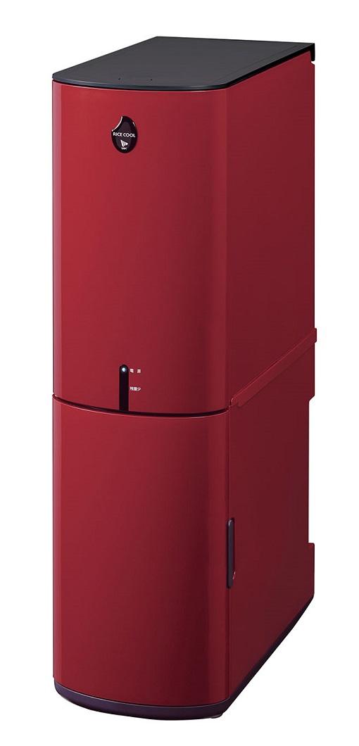 エムケー精工 保冷米びつ「RICE COOL」HRC-10SR 10kgタイプ(クラシックレッド)