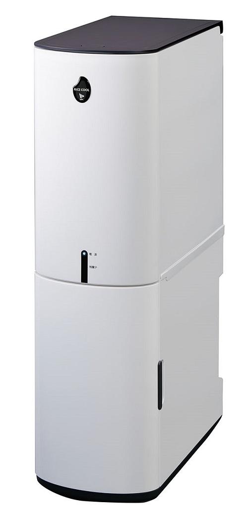 エムケー精工 保冷米びつ「RICE COOL」HRC-10SW 10kgタイプ(ライスホワイト)