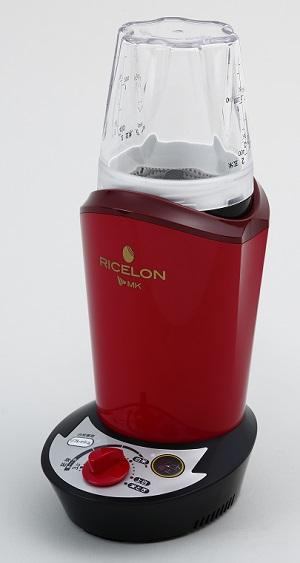 エムケー精工 小型精米機「RICELON」(0.5~2合) SM-200R無水米とぎコース付