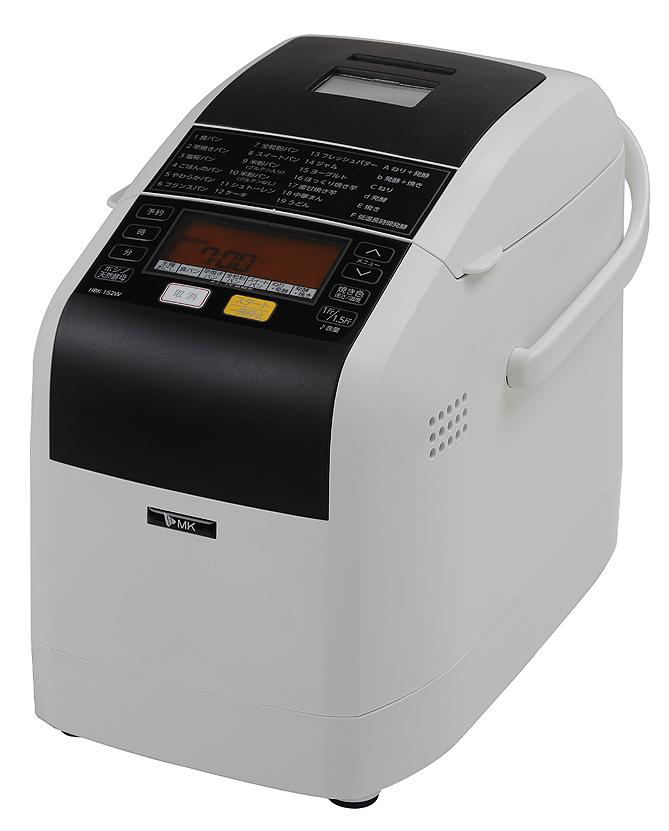 エムケー精工 「ふっくらパン屋さん」ホームベーカリー HBK-152W(1.5斤タイプ)調理家電 エムケー精工・パン焼き機, TREND HOUSE:2e74e482 --- data.gd.no