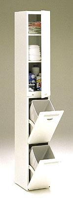 分別式ダストボックス クリーンペール CLD-131W(ゴミ箱・キッチン)