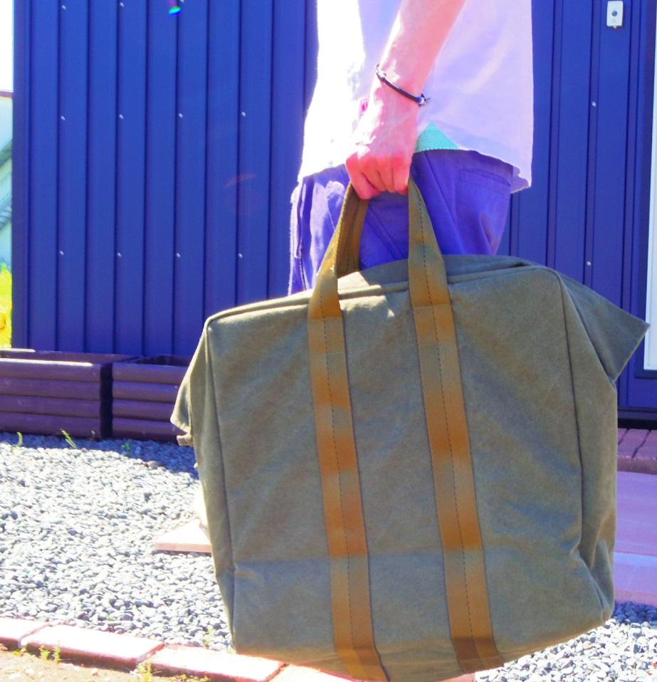 セール MADE IN OCCUPIED JAPAN PARACHUTE BAG メイドインオキュパイド パラシュートバッグ ハンドバッグ ミリタリーバッグ made in 沖縄