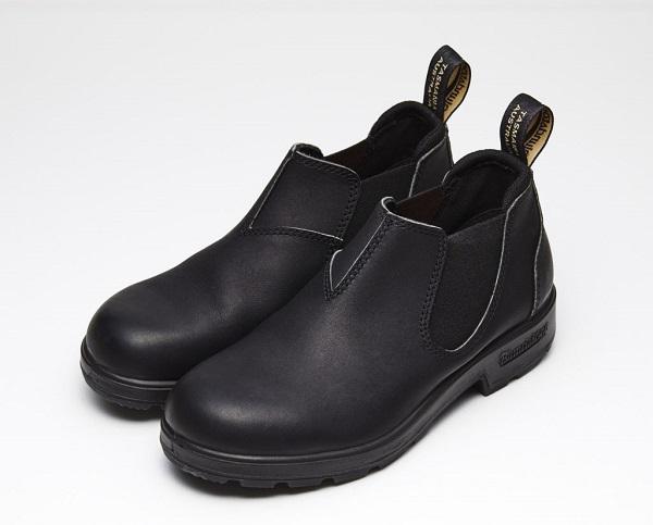 ブランドストーン ブーツ ブラック ローカットモデル 日本限定 BLUND STONE #1611 LOW-CUT (Voltan Black/Stout Brown) 21.5cmから28.5cmまで