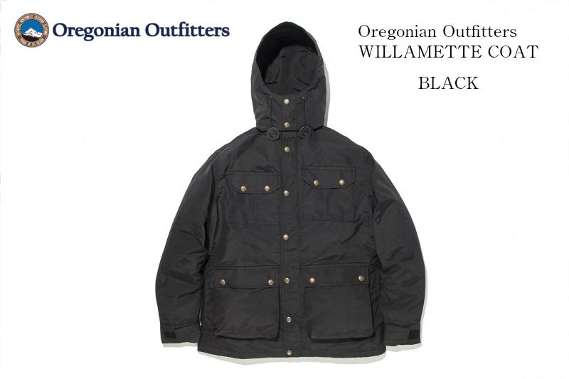セール フードジャケット オレゴニアンアウトフィッターズ Oregonian Outfitters ウィラメットジャケット ブラック MからLサイズまで ユニセックス アウトドア フードジャケット 2way メンズ レディース