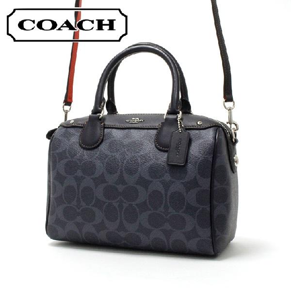 コーチ ショルダーバッグ レディース COACH BAG デニム F57672 SV/DE 【当店全品送料無料♪】【あす楽】