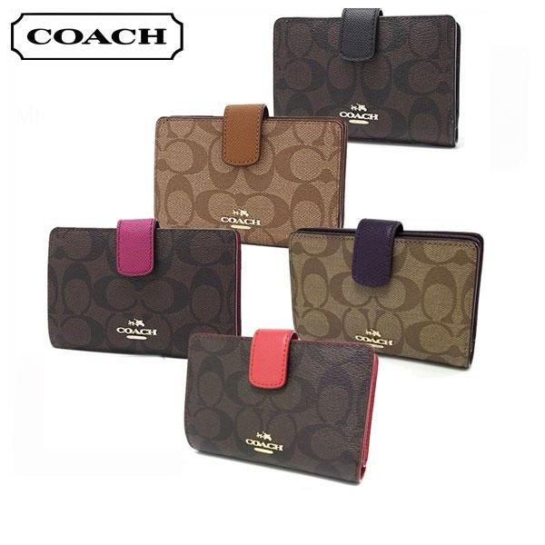 e93b04678717 MKcollection  Coach folio wallet medium corner zip wallet COACH F54023