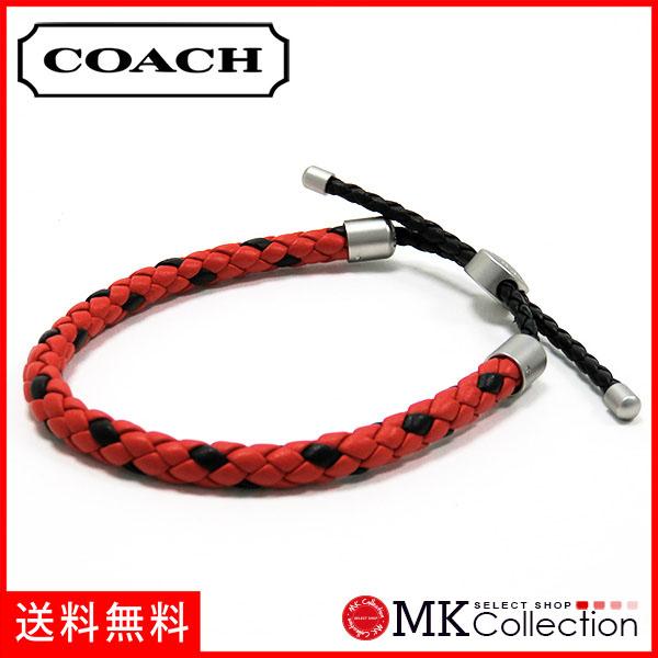 教练手镯人COACH配饰红F57147 RED
