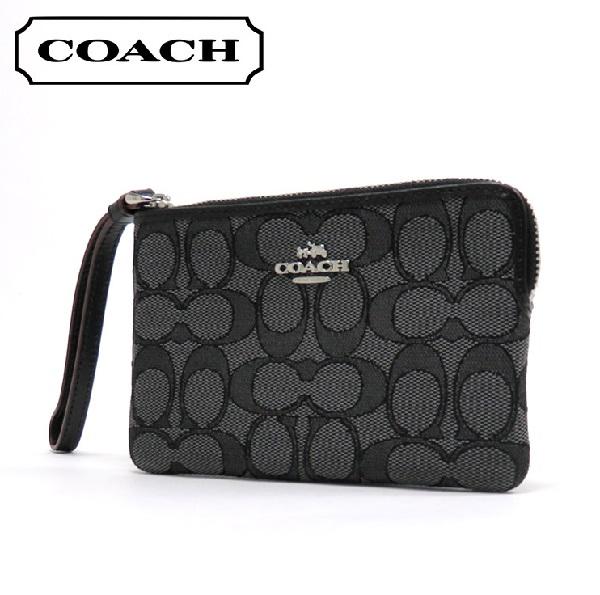 Coach coin case Lady's mini-porch COACH Wallet khaki / strawberry pink F58033 SVDK6