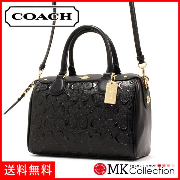 Coach Bag Lady Handbag Black F11920 Ima45