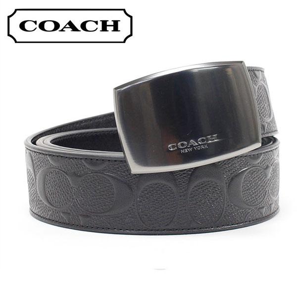コーチ ベルト メンズ COACH Belt ブラック F12026 BK/BK 【送料無料♪】
